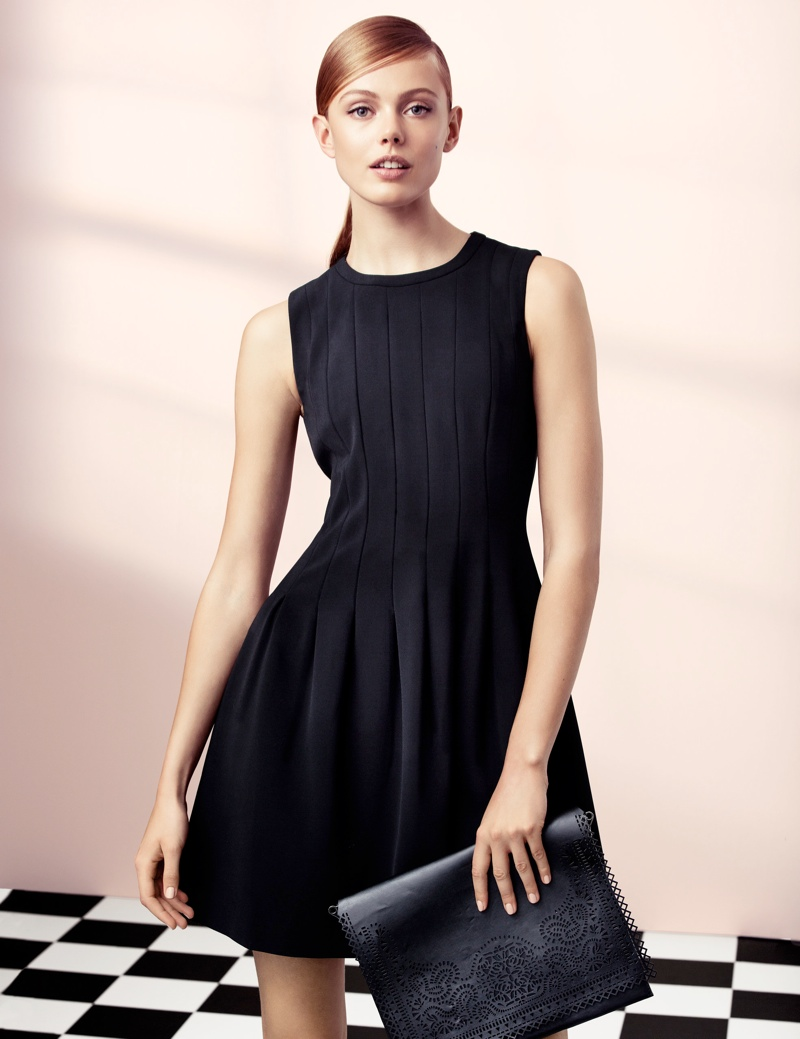 hm elegant2 Frida Gustavsson Models Effortless Elegance for H&M