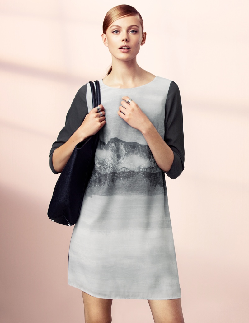 hm elegant4 Frida Gustavsson Models Effortless Elegance for H&M