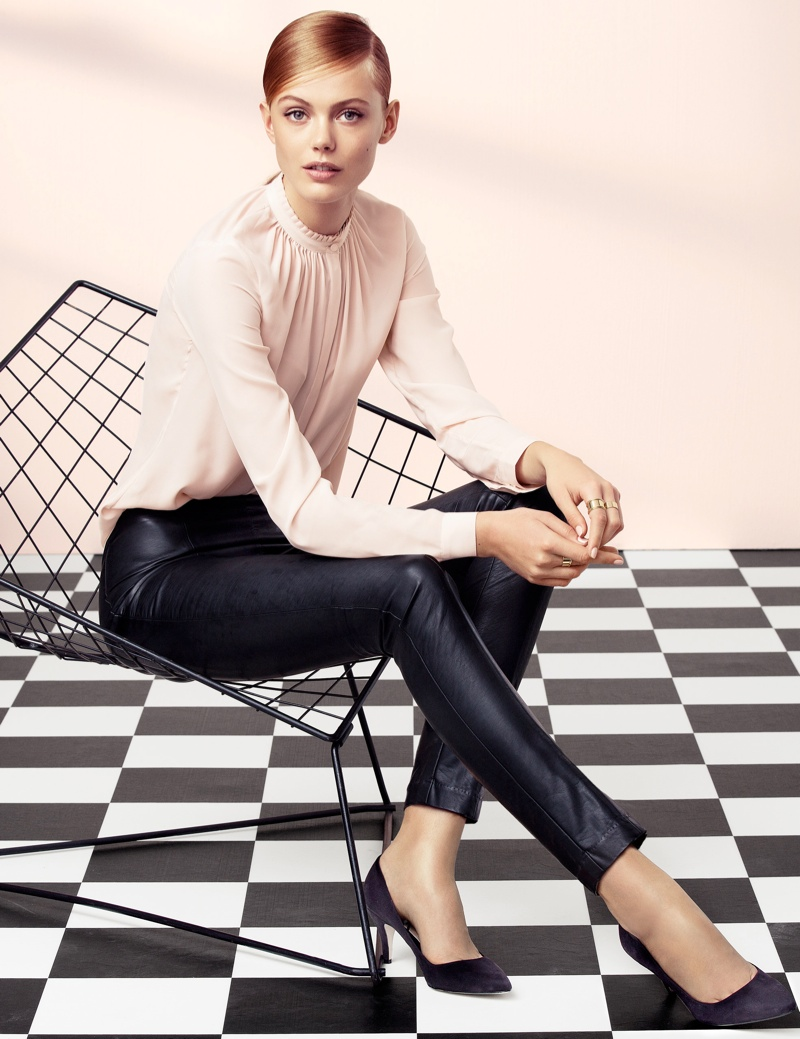 hm elegant6 Frida Gustavsson Models Effortless Elegance for H&M