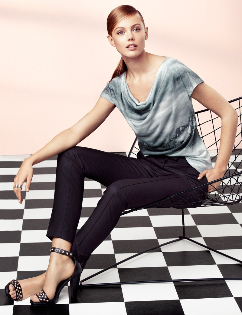 hm elegant9 Frida Gustavsson Models Effortless Elegance for H&M