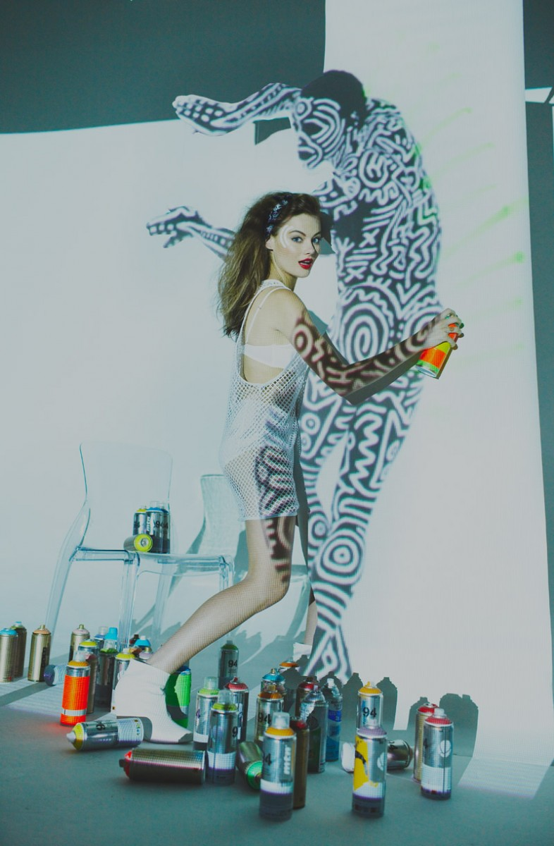 """Matilda Price by Anna Palma in """"Hangin' with Icons"""" for Fashion Gone Rogue"""