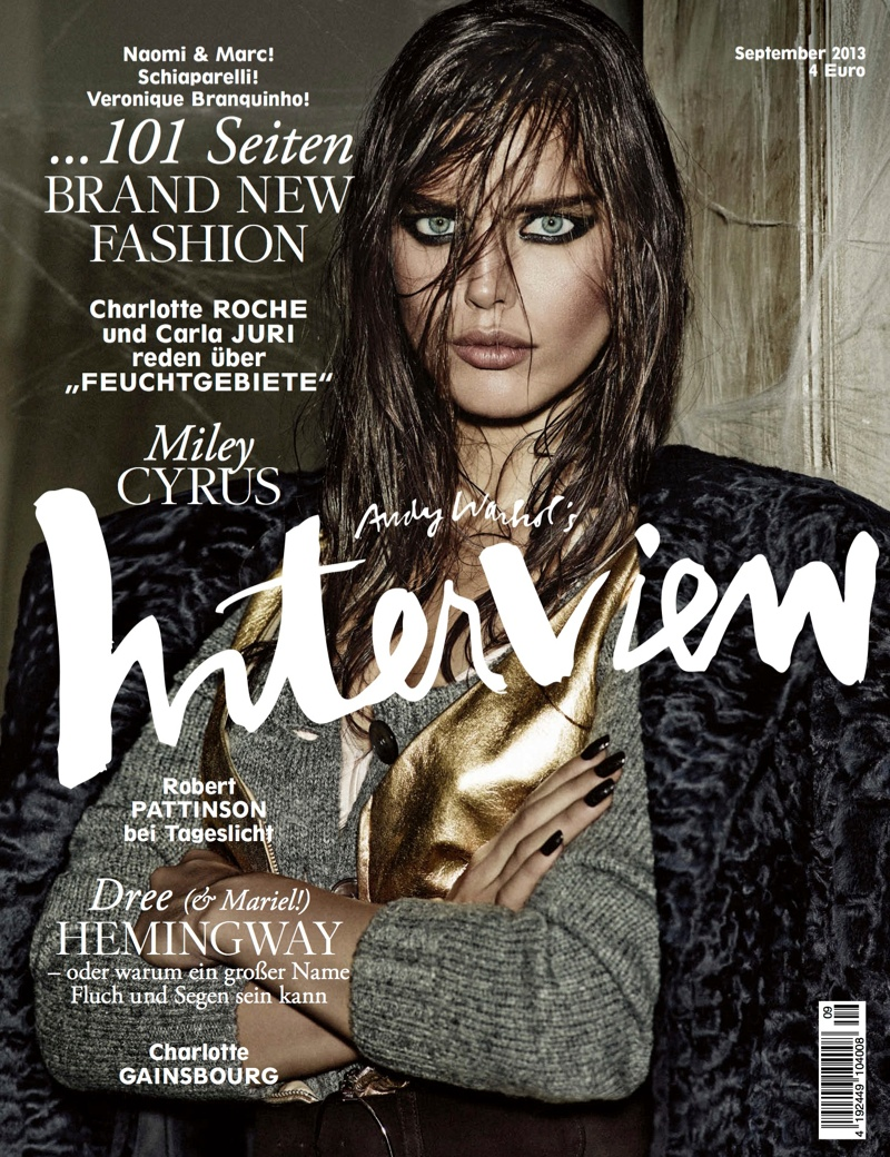 interview germany cover1 Dree Hemingway, Emily DiDonato & Charlotte Gainsbourg Cover Interview Germany September 2013