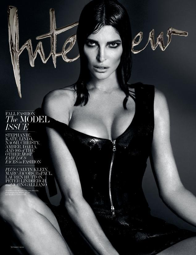 interview supermodel covers6 Supermodels Kate Moss, Naomi Campbell & More Cover Interview September 2013