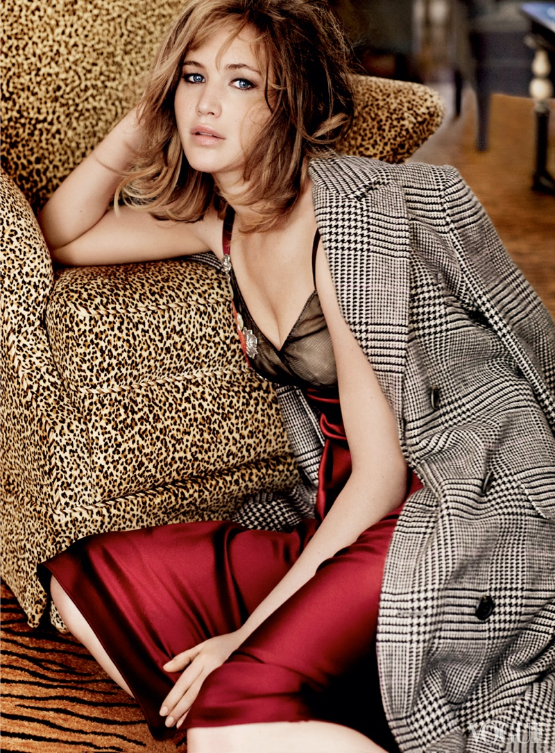 See More of Jennifer Lawrence's Shoot for Vogue