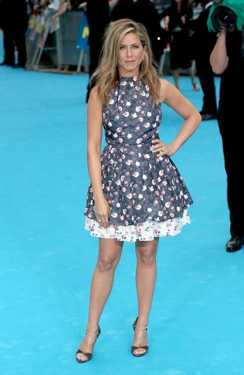 "Jennifer Aniston Wears Dior at the ""We Are the Millers"" London Premiere"