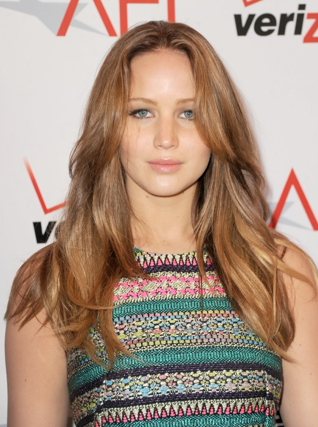 jennifer lawrence beachy waves 12 Long Hairstyles That Inspire