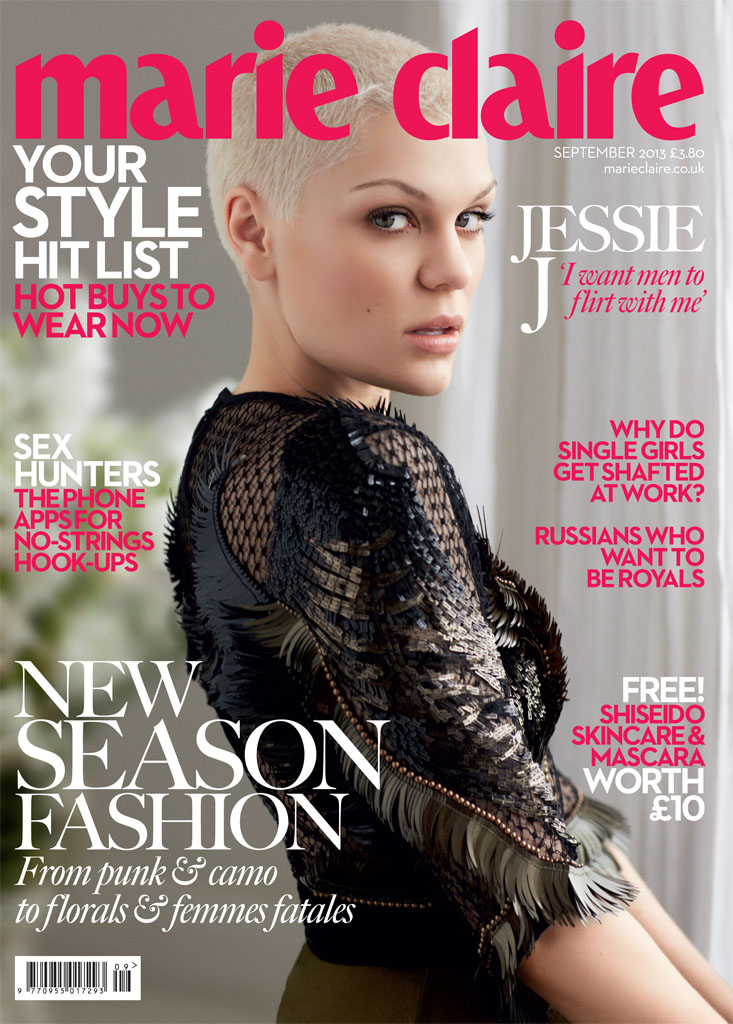 jessie j5 Jessie J Poses for David Roemer in Marie Claire UK September 2013