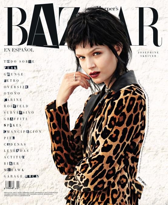 josephine skriver model12 Josephine Skriver Oozes Attitude for Harpers Bazaar Latin America by Hans Neumann