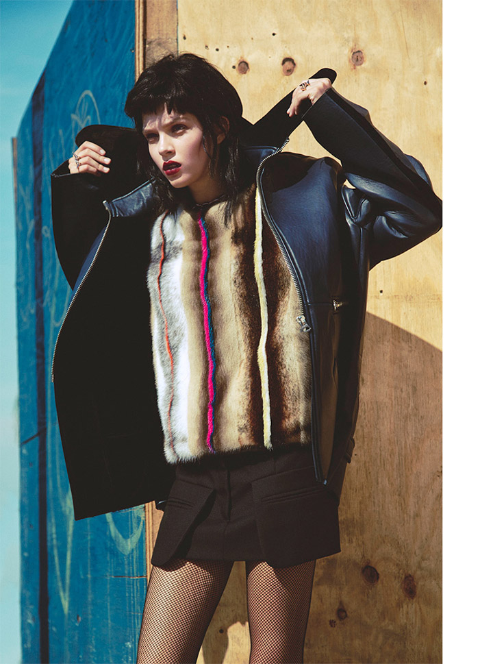 josephine skriver model2 Josephine Skriver Oozes Attitude for Harpers Bazaar Latin America by Hans Neumann