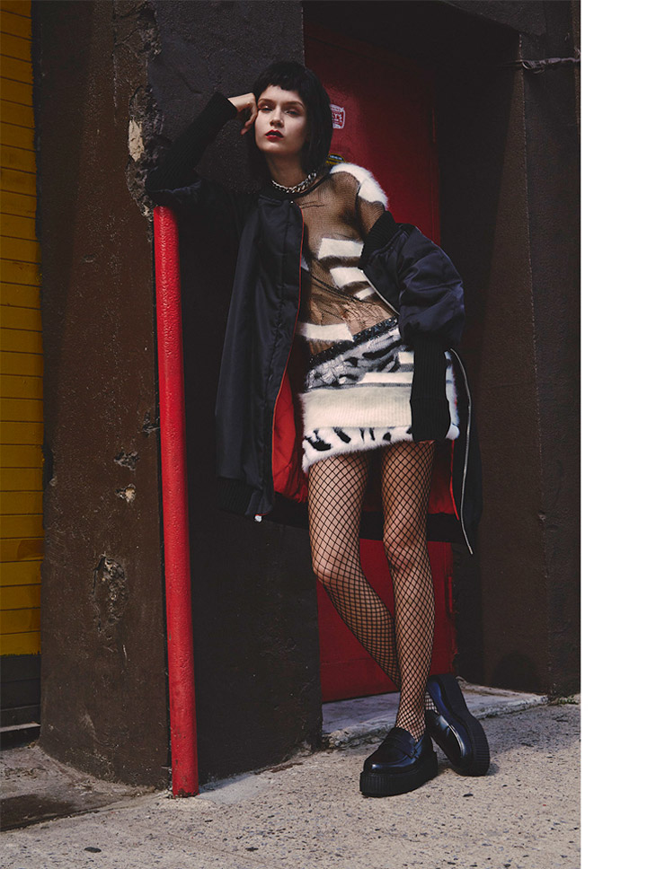 josephine skriver model6 Josephine Skriver Oozes Attitude for Harpers Bazaar Latin America by Hans Neumann