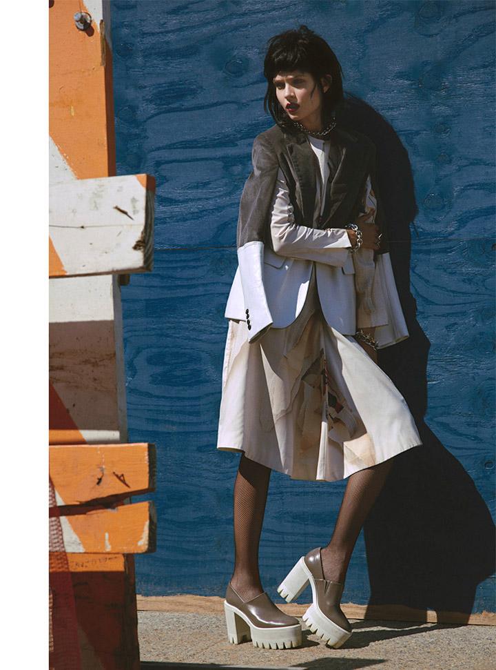 josephine skriver model9 Josephine Skriver Oozes Attitude for Harpers Bazaar Latin America by Hans Neumann