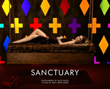 "Karsyn & Nikole by JUCO Photo in ""Sanctuary"" for Fashion Gone Rogue"