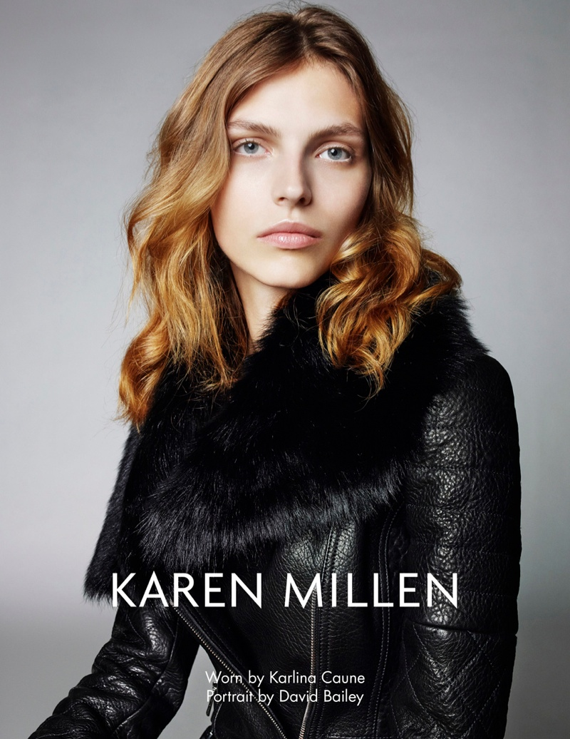 karen millen fw 2013 1 Karen Millen Fall 2013 Ads Enlist Karlina Cuane, Grace Gao & Others