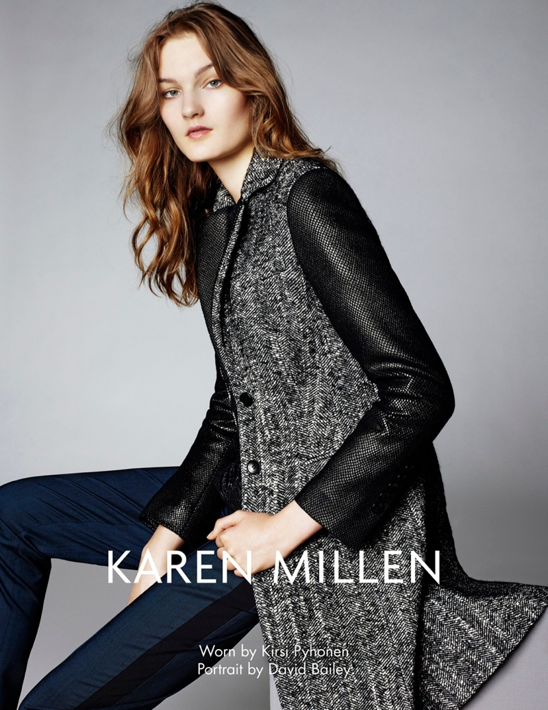 karen millen fw 2013 3 Karen Millen Fall 2013 Ads Enlist Karlina Cuane, Grace Gao & Others