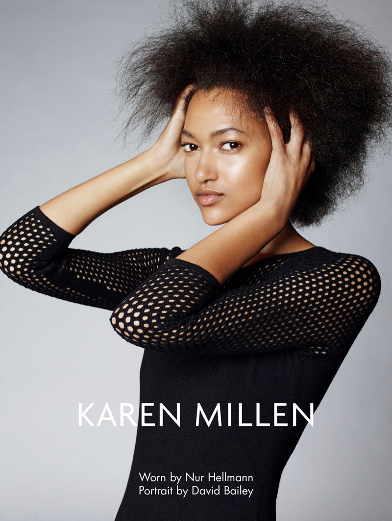 karen millen fw 2013 4 Karen Millen Fall 2013 Ads Enlist Karlina Cuane, Grace Gao & Others