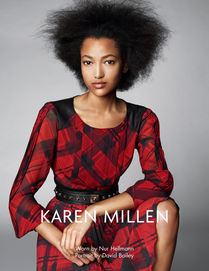 karen millen fw 2013 6 Karen Millen Fall 2013 Ads Enlist Karlina Cuane, Grace Gao & Others