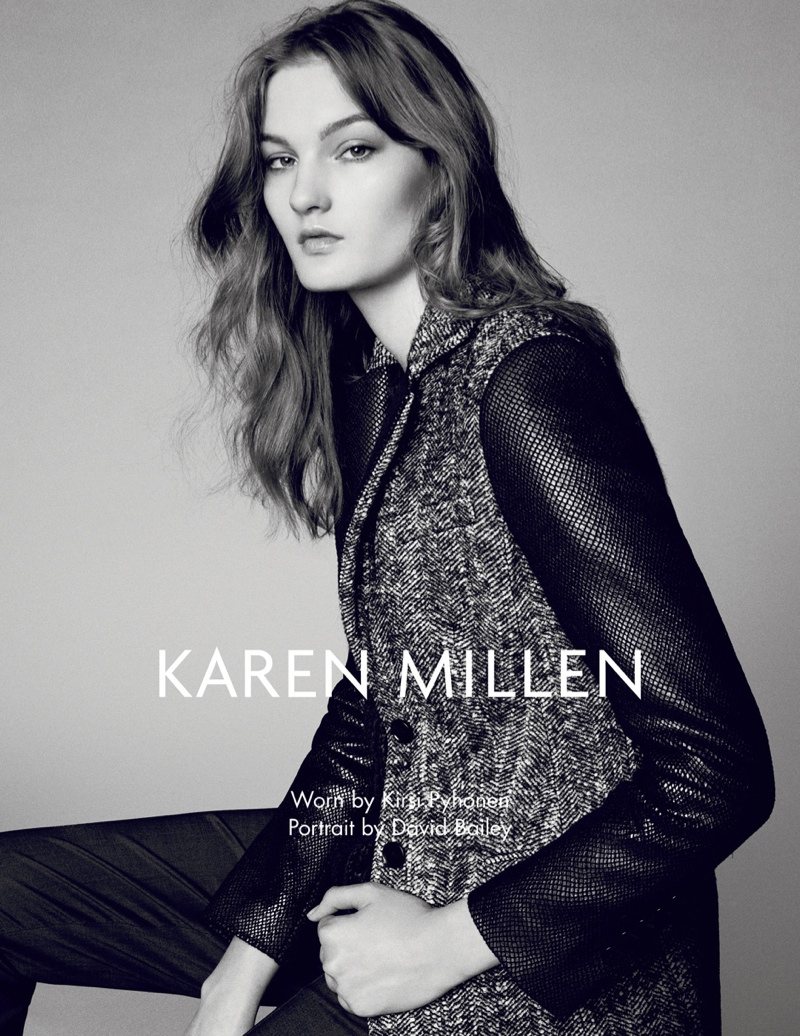 karen millen fw 2013 8 Karen Millen Fall 2013 Ads Enlist Karlina Cuane, Grace Gao & Others