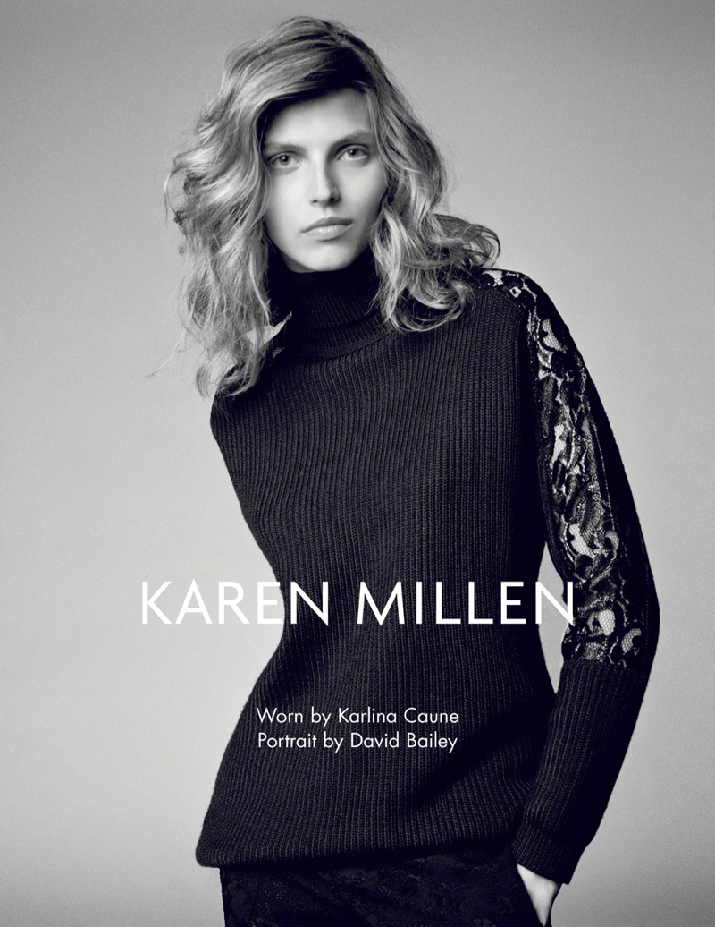 karen millen fw 2013 9 Karen Millen Fall 2013 Ads Enlist Karlina Cuane, Grace Gao & Others