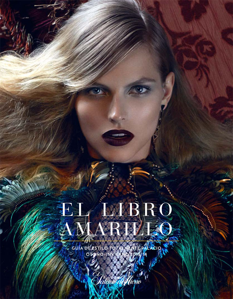 karlina caune model1 Karlina Caune Stars in El Libro Amarillo F/W 2013 by David Roemer