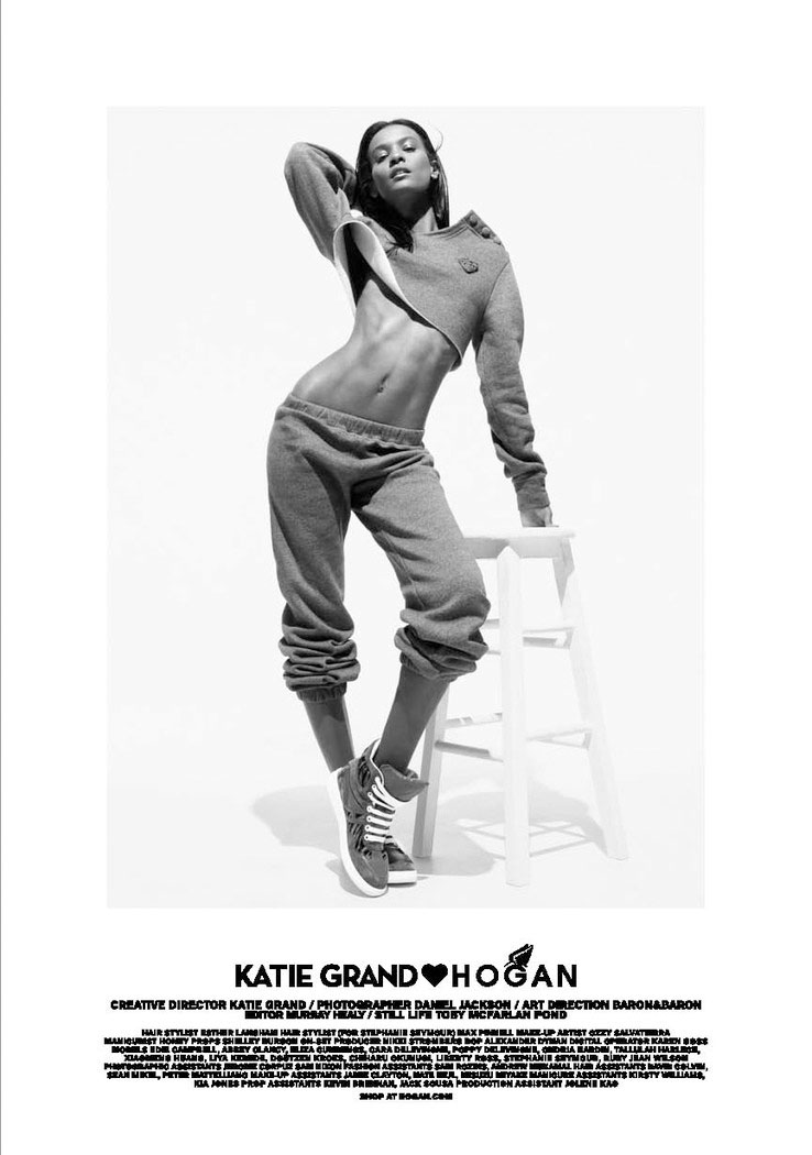 katie hogan fall2 Cara Delevingne, Doutzen Kroes & More Front Katie Grand x Hogan F/W 2013 Collection