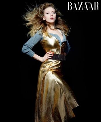 Karl Lagerfeld Shoots Scarlett Johansson, Dakota Fanning & More for Harper's Bazaar