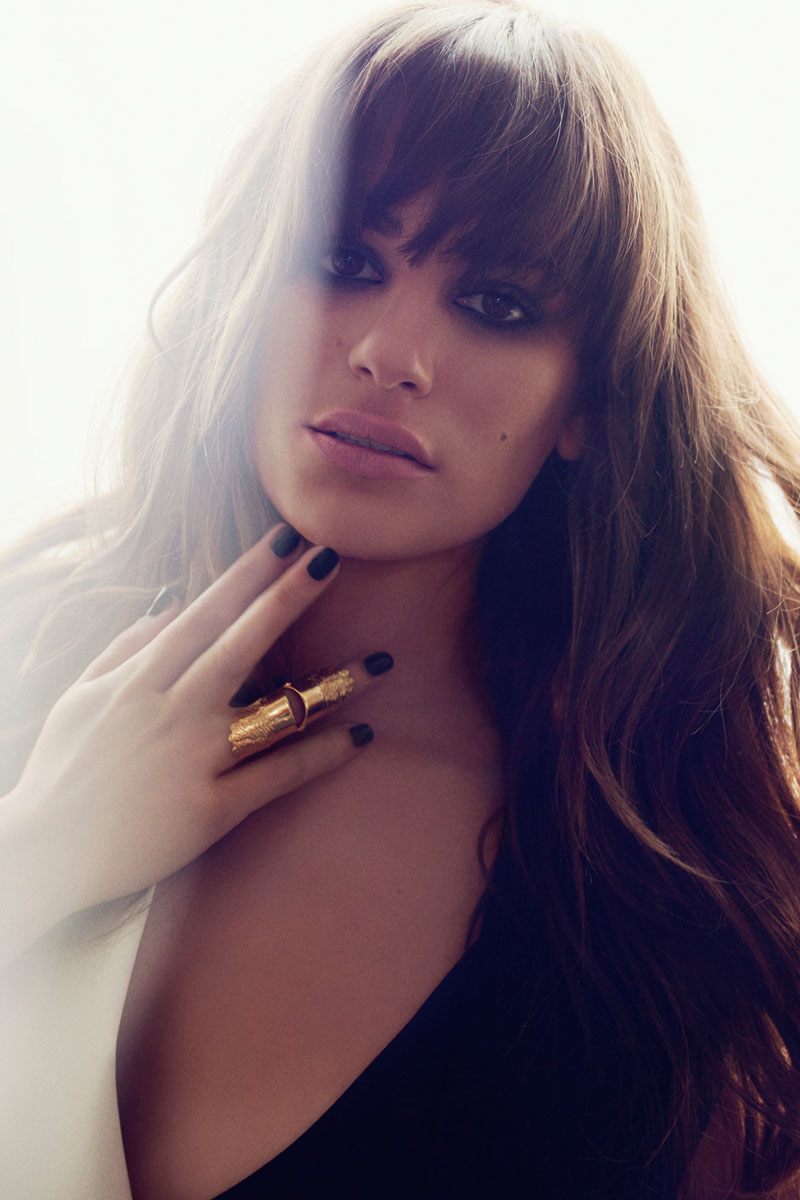 Lea Michele Poses for Frankie Batista in Marie Claire Mexico August 2013