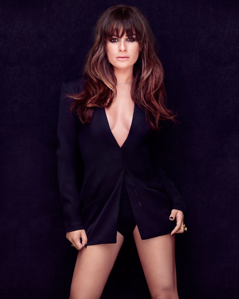 lea michele shoot6 Lea Michele Poses for Frankie Batista in Marie Claire Mexico August 2013