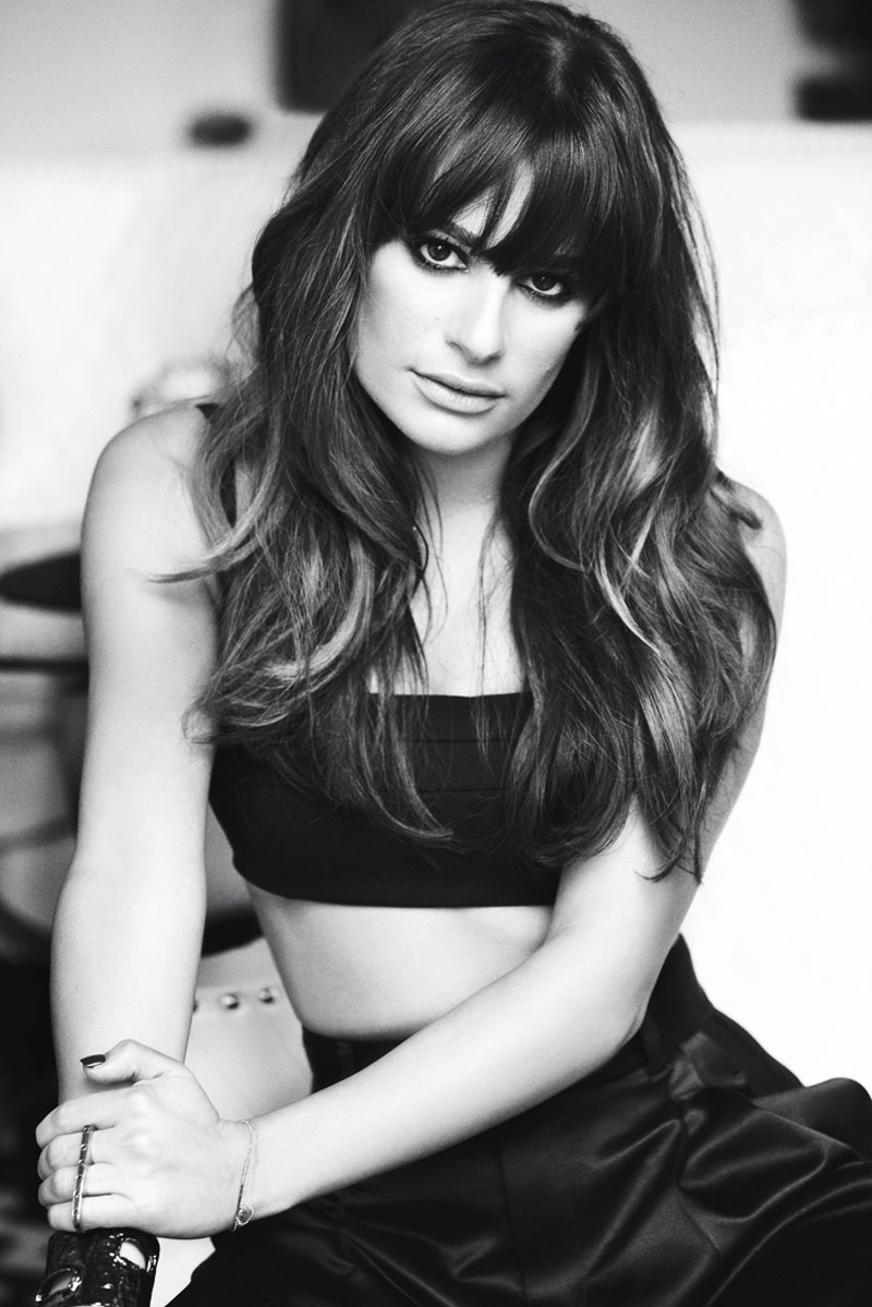 lea michele shoot7 Lea Michele Poses for Frankie Batista in Marie Claire Mexico August 2013