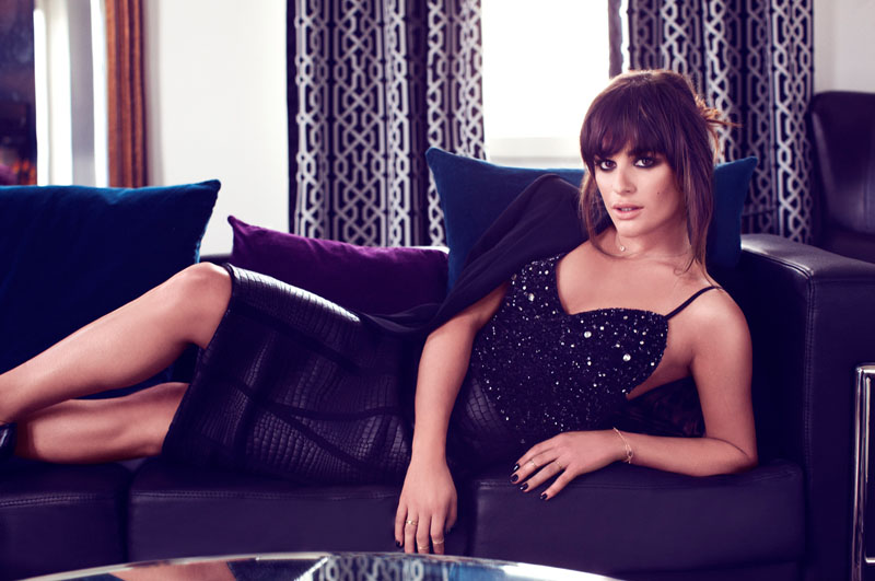 lea michele shoot8 Lea Michele Poses for Frankie Batista in Marie Claire Mexico August 2013