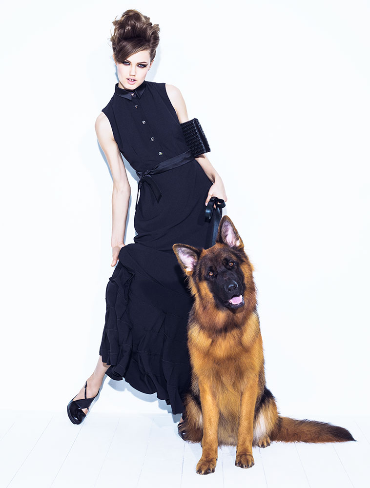 lindsey jacques dequeker6 Lindsey Wixson Has Canine Co Stars in Vogue Brazil Shoot by Jacques Dequeker