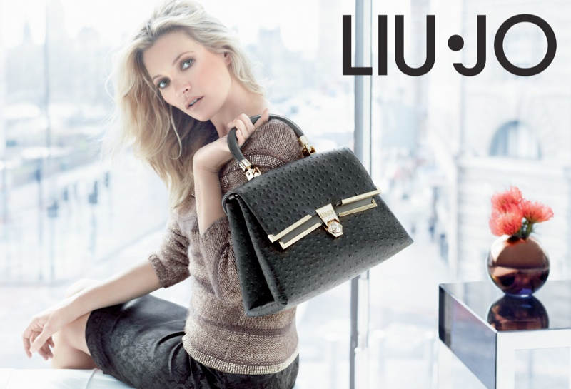 liu jo fall11 Kate Moss Stars in Liu Jo Fall 2013 Ads by Sølve Sundsbø