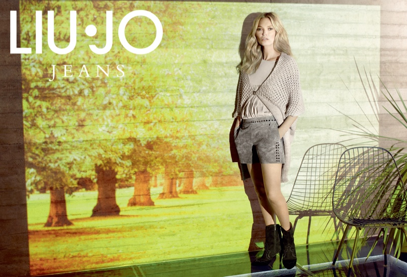 liu jo fall2 Kate Moss Stars in Liu Jo Fall 2013 Ads by Sølve Sundsbø