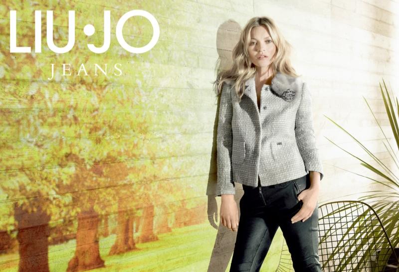 Kate Moss Stars in Liu Jo Fall 2013 Ads by Sølve Sundsbø
