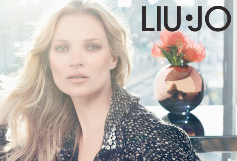 liu jo fall7 Kate Moss Stars in Liu Jo Fall 2013 Ads by Sølve Sundsbø