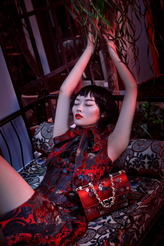 lofficiel shoot2 Li Xiao Xing Mesmerizes for LOfficiel China Shoot by Michelle Du Xuan