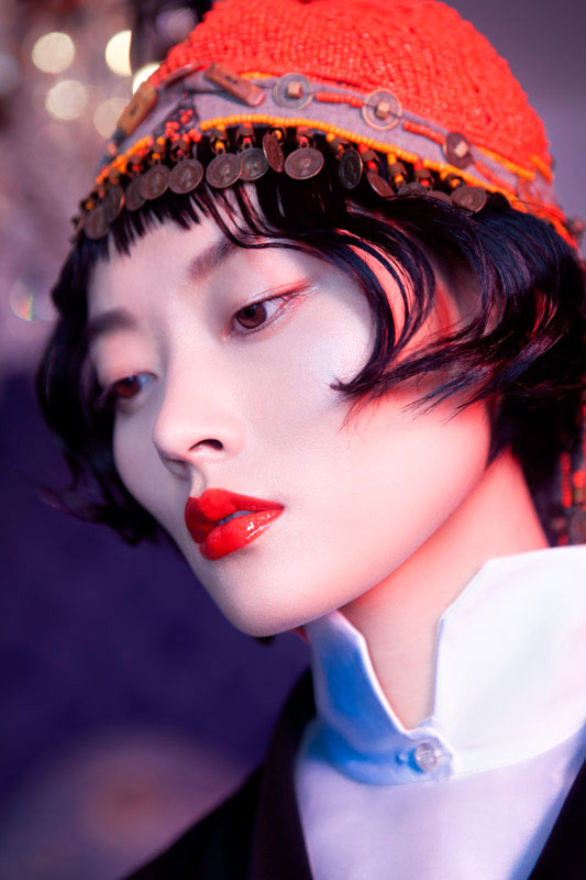 lofficiel shoot3 Li Xiao Xing Mesmerizes for LOfficiel China Shoot by Michelle Du Xuan