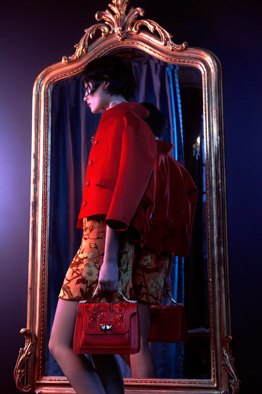 lofficiel shoot4 Li Xiao Xing Mesmerizes for LOfficiel China Shoot by Michelle Du Xuan