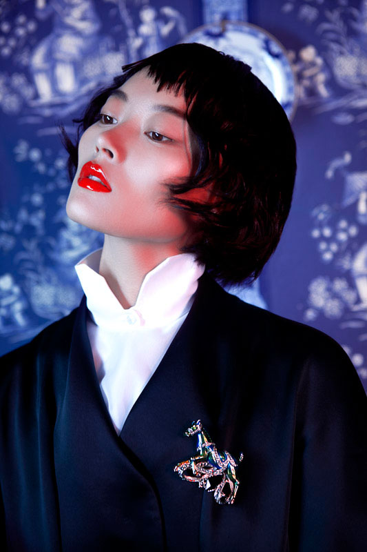 lofficiel shoot6 Li Xiao Xing Mesmerizes for LOfficiel China Shoot by Michelle Du Xuan