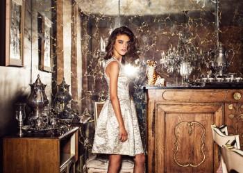Daria Pleggenkuhle Models Lulu's Fall 2013 Collection