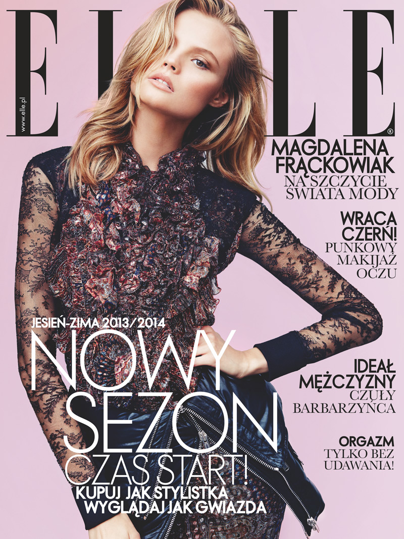 magdalena elle poland9 Magdalena Frackowiak Stars in Elle Polands September Issue