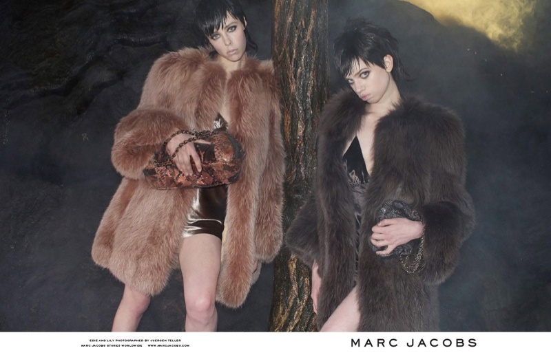 marc jacobs fall 2013 ads10 See More from Marc Jacobs Fall 2013 Ads with Edie Campbell & Lily McMenamy