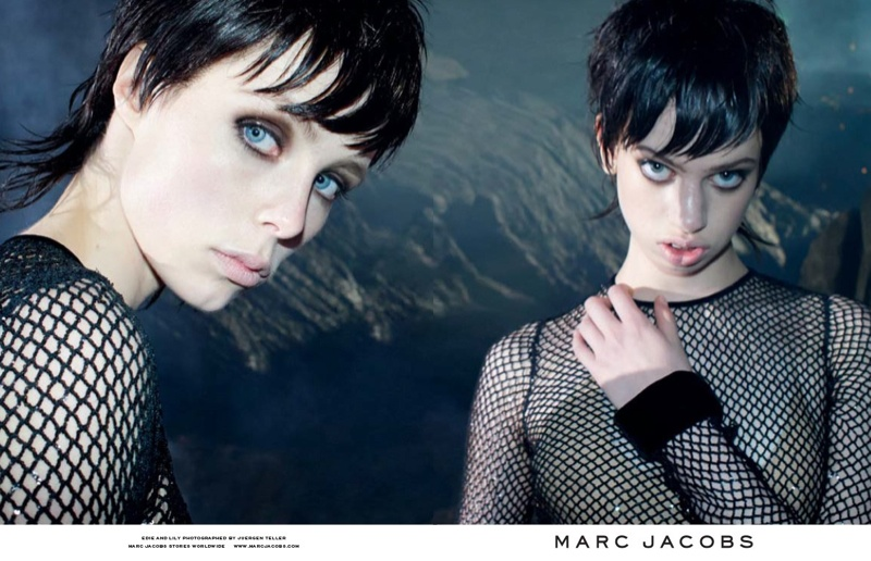 marc jacobs fall 2013 ads14 See More from Marc Jacobs Fall 2013 Ads with Edie Campbell & Lily McMenamy
