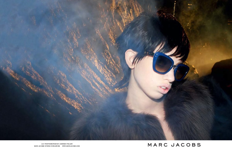 marc jacobs fall 2013 ads15 See More from Marc Jacobs Fall 2013 Ads with Edie Campbell & Lily McMenamy