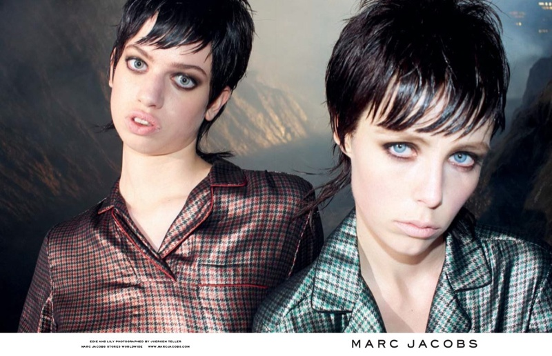 marc jacobs fall 2013 ads2 See More from Marc Jacobs Fall 2013 Ads with Edie Campbell & Lily McMenamy