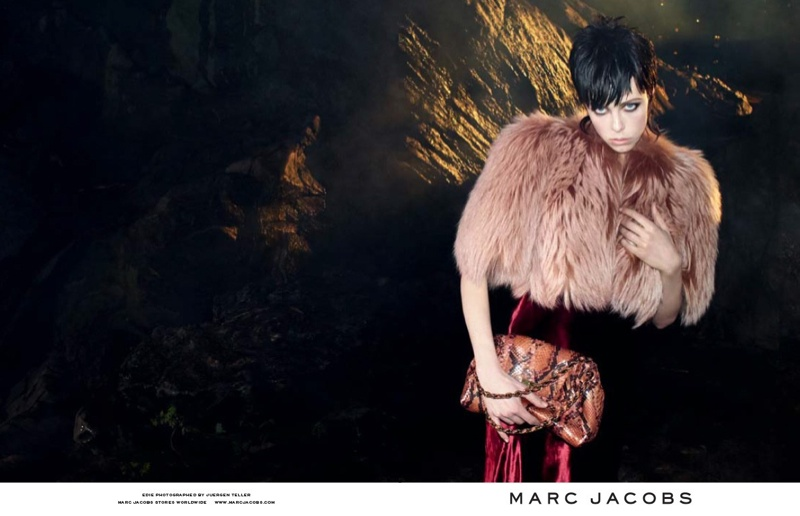 marc jacobs fall 2013 ads3 See More from Marc Jacobs Fall 2013 Ads with Edie Campbell & Lily McMenamy