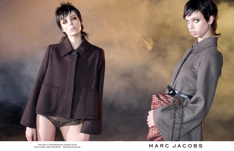 marc jacobs fall 2013 ads4 See More from Marc Jacobs Fall 2013 Ads with Edie Campbell & Lily McMenamy