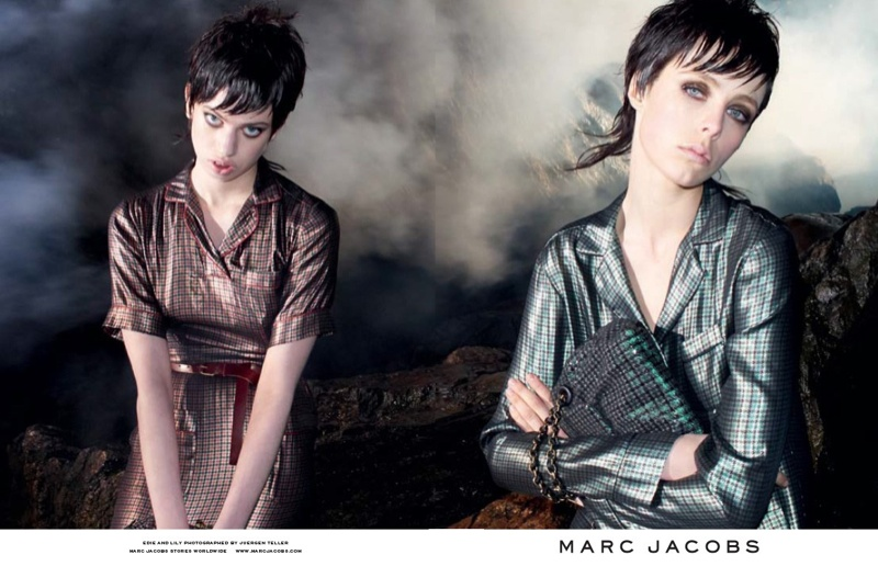 marc jacobs fall 2013 ads5 See More from Marc Jacobs Fall 2013 Ads with Edie Campbell & Lily McMenamy