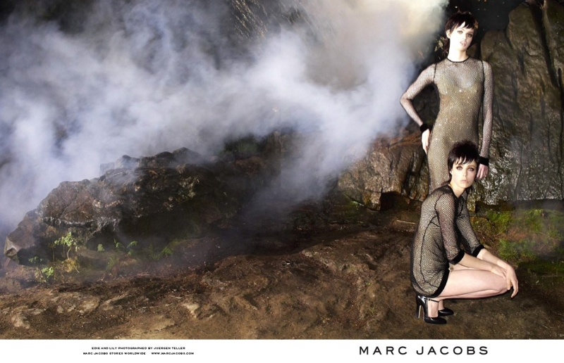 marc jacobs fall 2013 ads6 See More from Marc Jacobs Fall 2013 Ads with Edie Campbell & Lily McMenamy