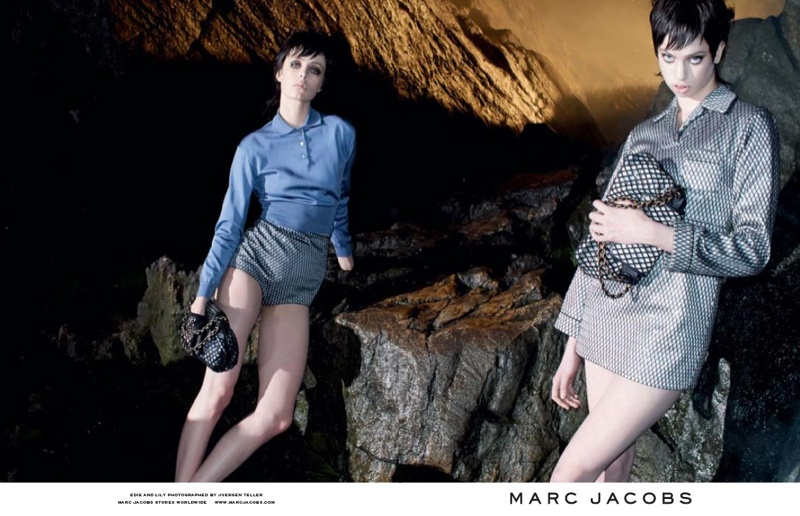 marc jacobs fall 2013 ads7 See More from Marc Jacobs Fall 2013 Ads with Edie Campbell & Lily McMenamy