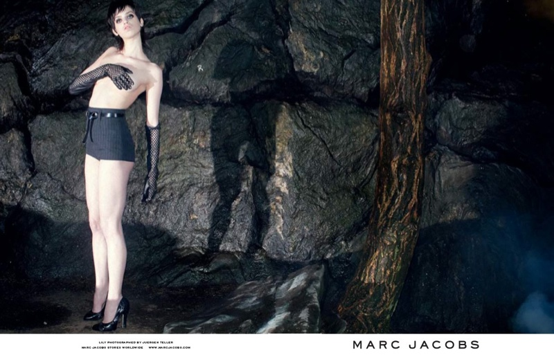 marc jacobs fall 2013 ads8 See More from Marc Jacobs Fall 2013 Ads with Edie Campbell & Lily McMenamy
